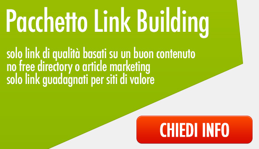 pacchetto link building